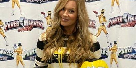 Tracy Lynn Cruz Yellow Space Ranger meet and greet San Antonio TX LVL UP tickets