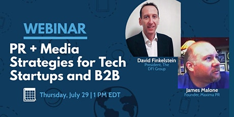 PR & Media Relations Strategies for Startups and B2B Companies tickets