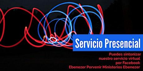 Servicio Presencial Domingo 20/06/2021 entradas