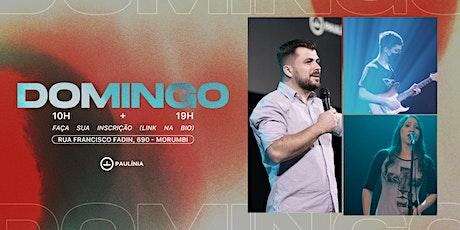 CULTO DOMINGO - 20/06 - 19:00 ingressos
