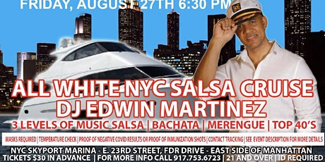 All White NYC Salsa Cruise tickets