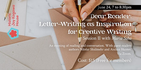 Dear Reader: Letter-Writing as Inspiration for Creative Writing tickets