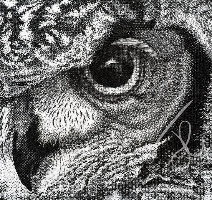 Jen Goodwin Professional Embroiderer on Contemporary Art Embroidery image