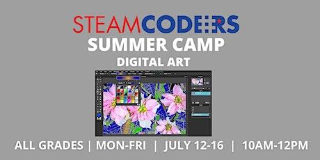 Digital Art (Virtual Summer Camp) tickets