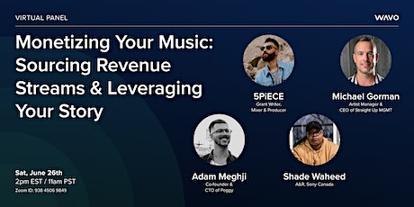 Panel [FREE] Monetizing Your Music: Sourcing Revenue Streams & Storytelling Tickets
