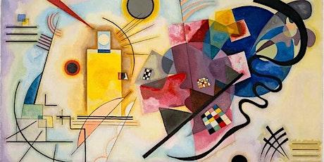 Kandinsky Inspired Paint & Sip Art Class @ Fulton Street Collective tickets