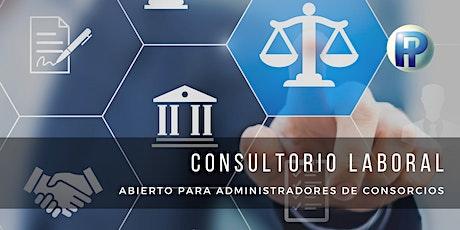 Consultorio abierto sobre Derecho Laboral ingressos