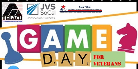 Military Veterans GAME DAY, BINGO, with TELACU Veterans Upward Bound tickets