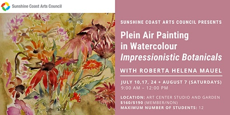 Plein Air Painting in Watercolour with Roberta Mauel tickets
