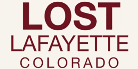 Lost Lafayette: Author Talk tickets