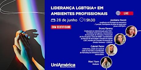 Conversa Online: Lideranças LGBTQIA+ em Ambientes Profissionais ingressos