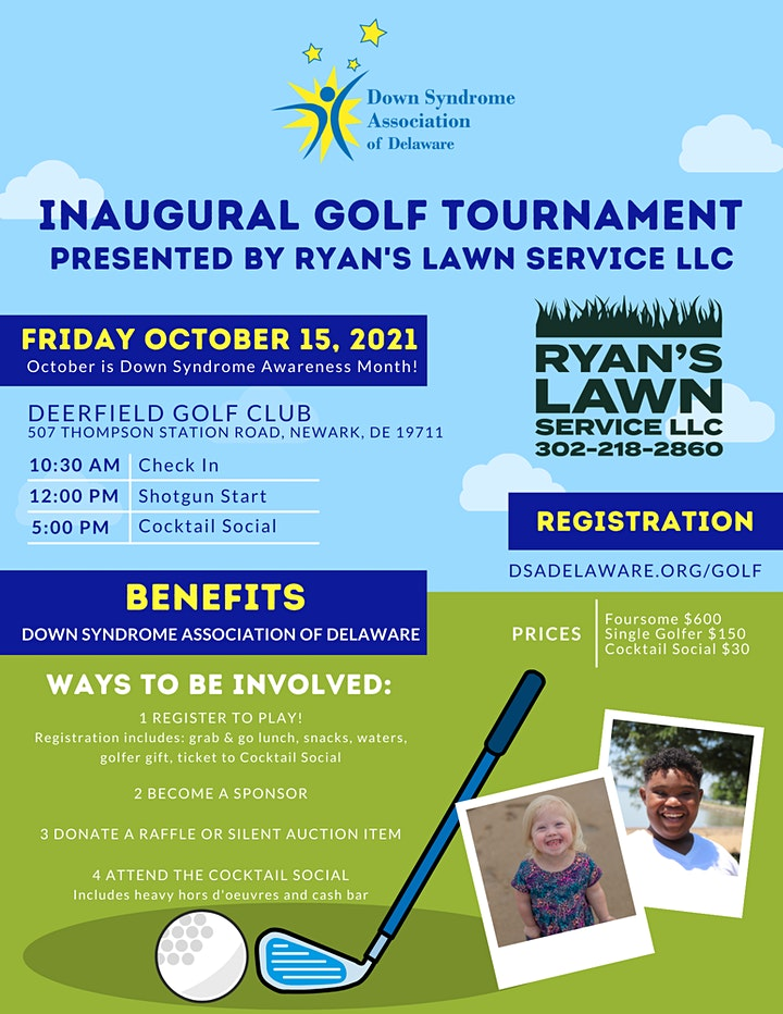 Inaugural Golf Tournament Presented by Ryan's Lawn Service LLC image