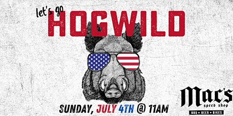 4th of July Pig Pickin' at Mac's Speed Shop, Lake Norman tickets