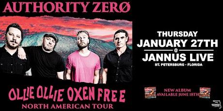 "AUTHORITY ZERO ""OLLIE OLLIE OXEN FREE"" - St. Pete tickets"