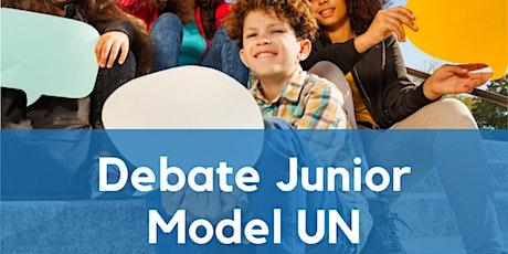 Debate Junior Model UN Summer Camp (link in description to sign up) tickets