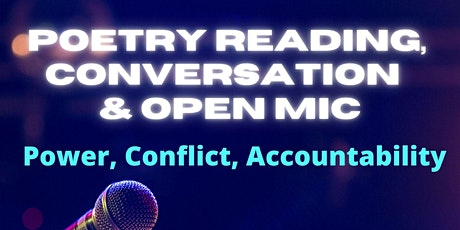 Poetry Reading, Discussion and Open Mic tickets