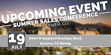 Summer Sale Conference tickets