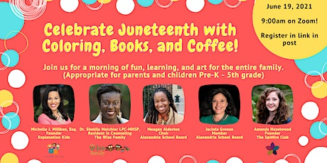 Coloring, Books, and Coffee: Juneteenth Edition! tickets