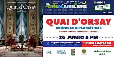 Crónicas Diplomáticas / Cine Francés tickets