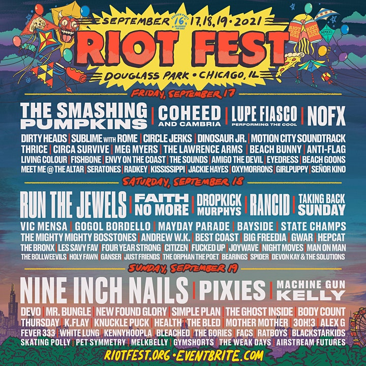 RIOT FEST 2021 I 3-DAY PASS  (SOLD OUT) image