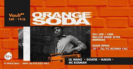 ORANGE SODA tickets