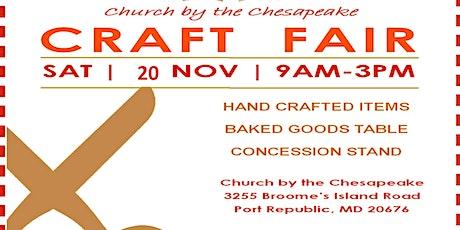 CBTC Fall Craft Fair tickets