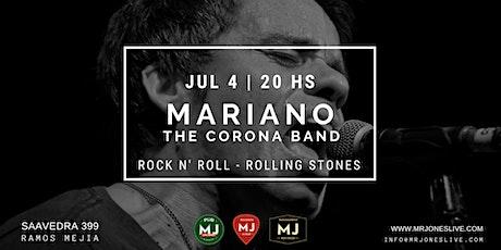 MARIANO HERNANDORENA & THE CORONA BAND tickets