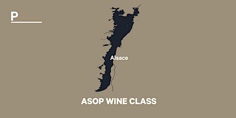 ASOP WINE CLASS - tasting Alsace tickets