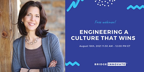 Engineering a Culture that Wins tickets