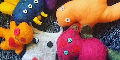 Art Social: Monster Dolls with Abby Aspen tickets