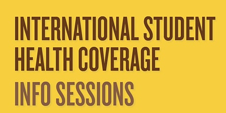 Student Health Insurance Plan (for current students) - Sep 2 tickets