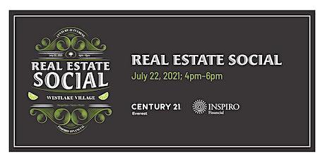 Conejo Valley Real Estate Social tickets