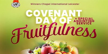 Covenant Day of  Fruitfulness and Anointing Service tickets