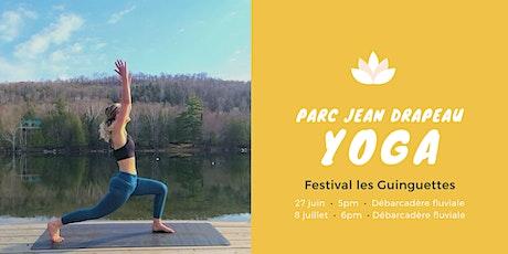 Yoga plein air - Festival les Guinguettes - Parc Jean Drapeau tickets
