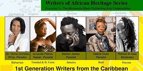 1st Generation Writers from the Caribbean and Identity - Session 1 tickets