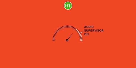 Halter Technical Webinar: Audio Supervisor 201 tickets