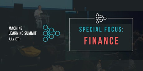Machine Learning in Finance Summit tickets