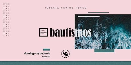 Reunión general (Especial Bautismos)- 27/06/21 - 10:00h entradas