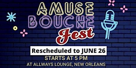 Amuse-Bouche Comedy Fest tickets
