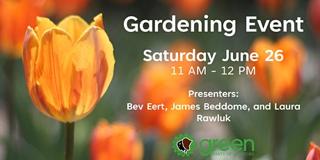 Gardening Event tickets