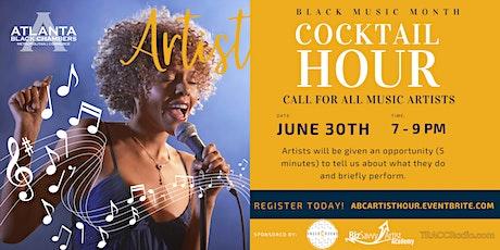 Artist Cocktail Hour June tickets