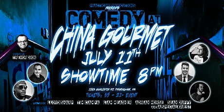 Comedy at China Gourmet! tickets