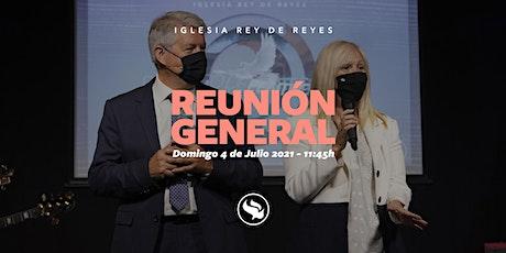 Reunión general - 04/07/21 - 11:45h entradas