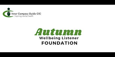 Autumn Wellbeing Listener 2021 tickets