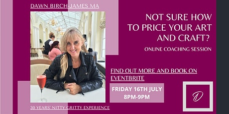 Confused about pricing your art and craft? The truth  explained tickets