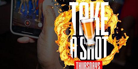 Take A Shot Thursdays Afterwork at TAJ Lounge NYC Hookah, Happy Hour Event tickets