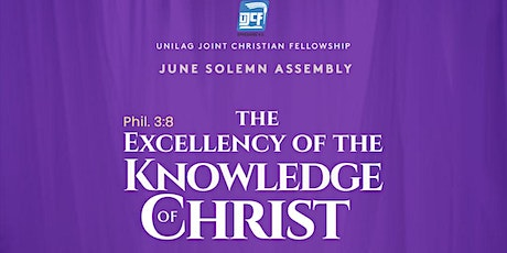 UJCF SOLEMN ASSEMBLY (JUNE EDITION) tickets