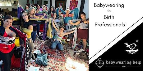 Babywearing for Birth & Postpartum Professionals - All Day Skills Workshop tickets