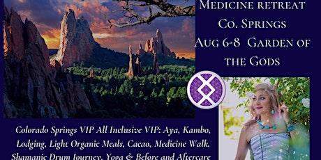 Medicine Tea 2-day All Inclusive VIP Retreat CO Springs/ Garden of the Gods tickets