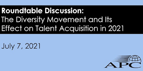 The Diversity Movement and Its Effect on Talent Acquisition in 2021 biglietti